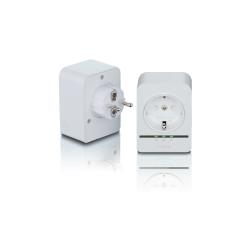 Adaptateur CPL D-Link PowerLine AV2 1000 HD Gigabit Passthrough Kit DHP-P601AV - Pont - GigE, HomePlug AV (HPAV) 2.0, IEEE 1901 - Branchement mural