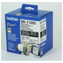 Brother DK-11202 - 62 x 100 mm 300 étiquette(s) (1 rouleau(x) x 300) étiquettes d'expédition - pour Brother QL-1050, QL-500, QL-550, QL-560, QL-650, QL-700, QL-710, QL-720