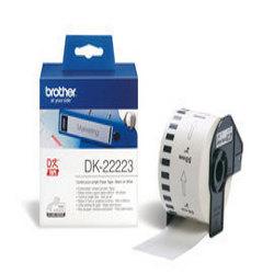 Étiquettes Brother DK-22223 - Papier - noir sur blanc - Rouleau (5 cm x 30,5 m) 1 rouleau(x) étiquettes continues - pour Brother QL-1050, QL-1050N, QL-500, QL-500A, QL-550, QL-560VP, QL-650TD, QL-700, QL-710WSP