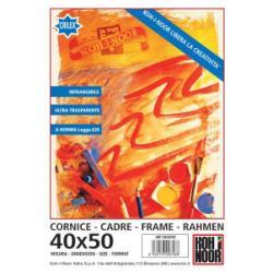 KOH-I-NOOR - Cadre photo - 19,7 x 27,6 pouces (50 x70 cm) - plexiglas - rectangulaire