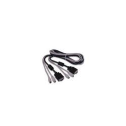Câble D-Link DKVM-CB - Câble clavier / vidéo / souris (KVM) - PS/2, HD-15 (M) pour PS/2, HD-15 (M) - 1.8 m - pour DKVM 8E