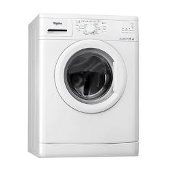 Lave-linge Whirlpool DLC 6010 - Machine à laver - pose libre - largeur : 60 cm - profondeur : 60 cm - hauteur : 85 cm - chargement frontal - 6 kg - 1000 tours/min - blanc