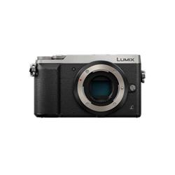 Appareil photo Panasonic Lumix G DMC-GX80 - Appareil photo numérique - sans miroir - 16.0 MP - Quatre tiers - 4K / 25 pi/s - corps uniquement - Wi-Fi - argenté(e)
