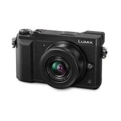 Appareil photo Panasonic Lumix G DMC-GX80K - Appareil photo numérique - sans miroir - 16.0 MP - Quatre tiers - 4K - 2.7x zoom optique objectif 12-32 mm - Wi-Fi - noir