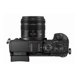 Appareil photo Panasonic Lumix G DMC-GX8K - Appareil photo numérique - sans miroir - 20.3 MP - Quatre tiers - 4K - 3x zoom optique objectif 14-42 mm - Wi-Fi, NFC - noir