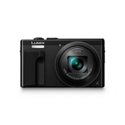Appareil photo Panasonic Lumix DMC-TZ80 - Appareil photo numérique - compact - 18.1 MP - 4K / 25 pi/s - 30x zoom optique - Leica - Wi-Fi - noir