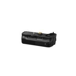 Batterie Panasonic DMW-BGGH3E - Poignée avec batterie - noir - pour Lumix G DMC-GH3, GH3A, GH3H, GH3WA, GH4, GH4A, GH4H, GH4M, GH4R