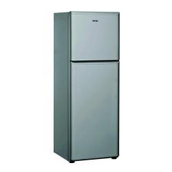 Réfrigérateur Ignis DPA 300 V/EG/IS - Réfrigérateur/congélateur - pose libre - largeur : 59.5 cm - profondeur : 64 cm - hauteur : 170.5 cm - 318 litres - congélateur haut - classe A+ - argenté(e)