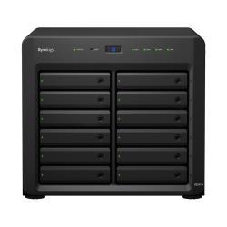 Serveur de stockage en réseau Synology Disk Station DS2415+ - Serveur NAS - 12 Baies - SATA 6Gb/s - RAID 0, 1, 5, 6, 10, JBOD, disque de réserve 5, 6 disques de secours, disque de réserve 10, disque de réserve 1 - Gigabit Ethernet - iSCSI