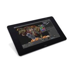Tablette graphique Wacom Cintiq 27QHD Touch - Numériseur avec écran à cristaux liquides - 51.84 x 32.4 cm - multitactile - filaire - USB - noir