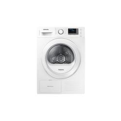 Sèche-linge Samsung DV80F5E5HGW/ET - Sèche-linge - pose libre - largeur : 60 cm - profondeur : 60 cm - hauteur : 85 cm - chargement frontal - blanc