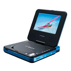 Lecteur DVD portable Intreeo DVD-P7UX - - portable
