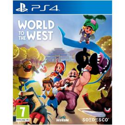 Videogioco  World to the west Ps4 - namco - monclick.it