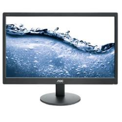 "Écran LED AOC E2070SWN - Écran LED - 19.5"" (19.5"" visualisable) - 1600 x 900 - 200 cd/m² - 5 ms - VGA - noir"