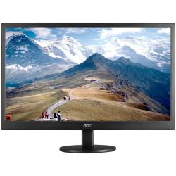 "Écran LED AOC Value E2270SWDN - Écran LED - 21.5"" - 1920 x 1080 Full HD (1080p) - TN - 200 cd/m² - 5 ms - DVI-D, VGA - noir"