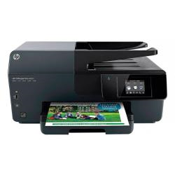 Imprimante  jet d'encre multifonction HP Officejet Pro 6830 e-All-in-One - Imprimante multifonctions - couleur - jet d'encre - 212 x 356 mm (original) - A4/Legal (support) - jusqu'� 28 ppm (copie) - jusqu'� 29 ppm (impression) - 225 feuilles - USB 2.0, LAN, Wi-Fi(n), h�te USB