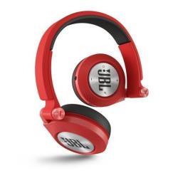 JBL Synchros E40 BT - Casque - sur-oreille - sans fil - Bluetooth - isolation acoustique - rouge