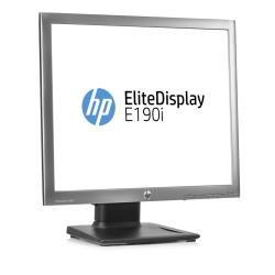 "Écran LED HP EliteDisplay E190i - Écran LED - 18.9"" (18.9"" visualisable) - 1280 x 1024 - IPS - 250 cd/m² - 1000:1 - DVI-D, VGA, DisplayPort - noir"