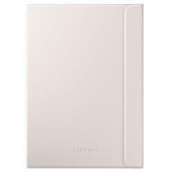 Coque Samsung Book Cover EF-BT810P - Protection à rabat pour tablette - touché cuir - blanc - pour Galaxy Tab S2 (9.7 po)