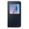 Custodia Samsung - S View Cover Galaxy S6 Nero