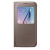 Custodia Samsung - S-View Cover Galaxy S6 Oro