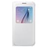 Cover Samsung - S View Cover Galaxy S6 Bianco