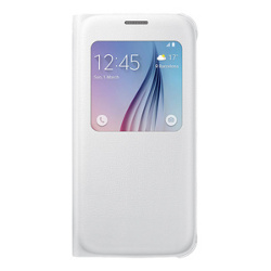 Cover Samsung - S-VIEW COVER GALAXY S6 BIANCO