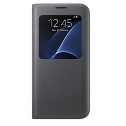 Custodia Samsung - S VIEW COVER BLACK S7 EDGE