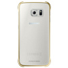 Cover Samsung - CLEAR COVER GALAXY S6 ORO
