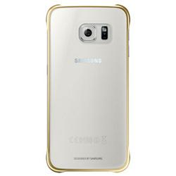 Foto Cover  EF-QG920BFEGWW per Galaxy S6 Plastica Oro Samsung