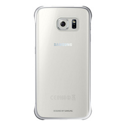 Cover Samsung - CLEAR COVER GALAXY S6 EDGE GRIGIO