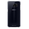 Cover Samsung - CLEAR COVER BLACK S7 EDGE