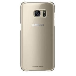 Cover Samsung - CLEAR COVER GOLD S7 EDGE
