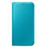 Custodia Samsung - EF-WG920PLEGWW  per  Galaxy S6  in  Similpelle Azzurro