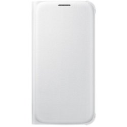 Cover Samsung - FLIP WALLET GALAXY S6 BIANCO
