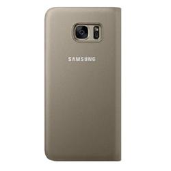 Custodia EF-WG935PFEGWW per Galaxy S7 Edge in Plastica Oro