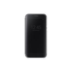 Housse Samsung Clear View Cover EF-ZA520 - Protection à rabat pour téléphone portable - noir - pour Galaxy A5 (2017)