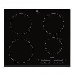 Plan de cuisson Electrolux EHH 6540 I8K - Table de cuisson à induction - 4 plaques de cuisson - Niche - largeur : 56 cm - profondeur : 49 cm - noir