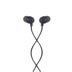 House of Marley Little Bird - Écouteurs avec micro - intra-auriculaire - jack 3,5mm - isolation acoustique - noir