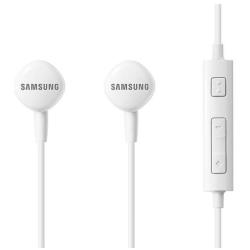 Samsung EO-HS130 - �couteurs avec micro - intra-auriculaire - jack 3.5mm - blanc - pour Galaxy Core Prime VE, Fame, Mega, Note 4, S4 Active, S4 Zoom, S5, S5 Active, S5 Neo, Young