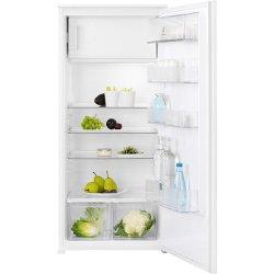 Réfrigérateur encastrable Electrolux ERN2001FOW - Réfrigérateur avec compartiment freezer - intégrable - niche - largeur : 56 cm - profondeur : 55 cm - hauteur : 122.5 cm - 189 litres - classe A+ - blanc
