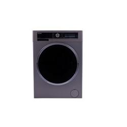 Lave-linge Sharp ESWFD9144I3 - Machine à laver - pose libre - largeur : 59.7 cm - profondeur : 58.2 cm - hauteur : 84.5 cm - chargement frontal - 61 litres - 9 kg - 1400 tours/min - Argent foncé