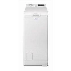 Lave-linge Electrolux EWT1276EDW - Machine à laver - pose libre - largeur : 40 cm - profondeur : 60 cm - hauteur : 85 cm - chargement par le dessus - 7 kg - 1200 tours/min