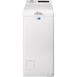 Lave-linge Electrolux EWT1377VDW - Machine à laver - pose libre - largeur : 40 cm - profondeur : 60 cm - hauteur : 85 cm - chargement par le dessus - 7 kg - 1300 tours/min