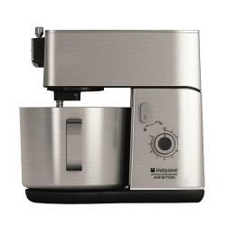 Robot pâtissier Hotpoint Ariston KM 040 AX0 - Robot pâtissier - 400 Watt - inox