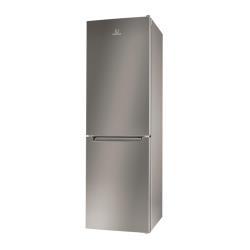 Réfrigérateur Indesit Extra LI80 FF2 S B - Réfrigérateur/congélateur - pose libre - largeur : 60 cm - profondeur : 63 cm - hauteur : 189 cm - 305 litr