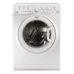 Lave-linge Hotpoint Ariston FML 602 EU - Machine à laver - pose libre - largeur : 59.5 cm - profondeur : 54 cm - hauteur : 85 cm - chargement frontal - 52 litres - 6 kg - 1000 tours/min - blanc