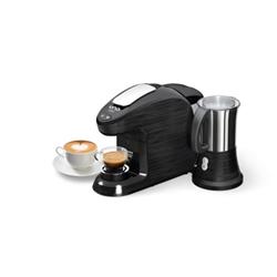 Expresso et cafetière Hotpoint Ariston Uno Milk CM HM QBB0 - Machine à café - 19 bar - noir
