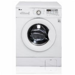 Lave-linge LG 6 Motion Direct Drive F10B8NDA - Machine à laver - pose libre - largeur : 60 cm - profondeur : 44 cm - hauteur : 84.2 cm - chargement frontal - 42 litres - 6 kg - 1000 tours/min