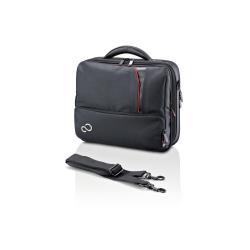 """Sacoche Fujitsu Prestige Case Mini 13 - Sacoche pour ordinateur portable - 13.3"""" - noir - pour LIFEBOOK E733, P701, P702, P772, S751, S761, S762, S792, SH531, T731, T901, T902"""